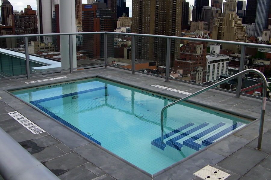 Outdoor Pool Spa Nyc