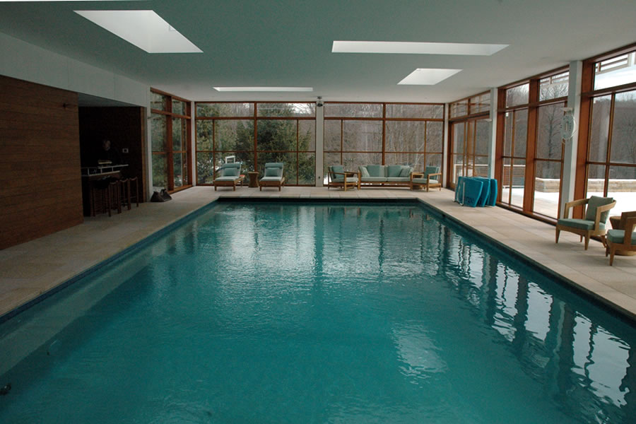 Indoor Pool Boston Massachusetts Residential Pool Design by Omega