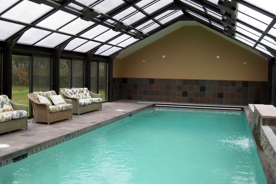 Indoor pool bryn mawr pennsylvania residential pool for Residential swimming pool designs