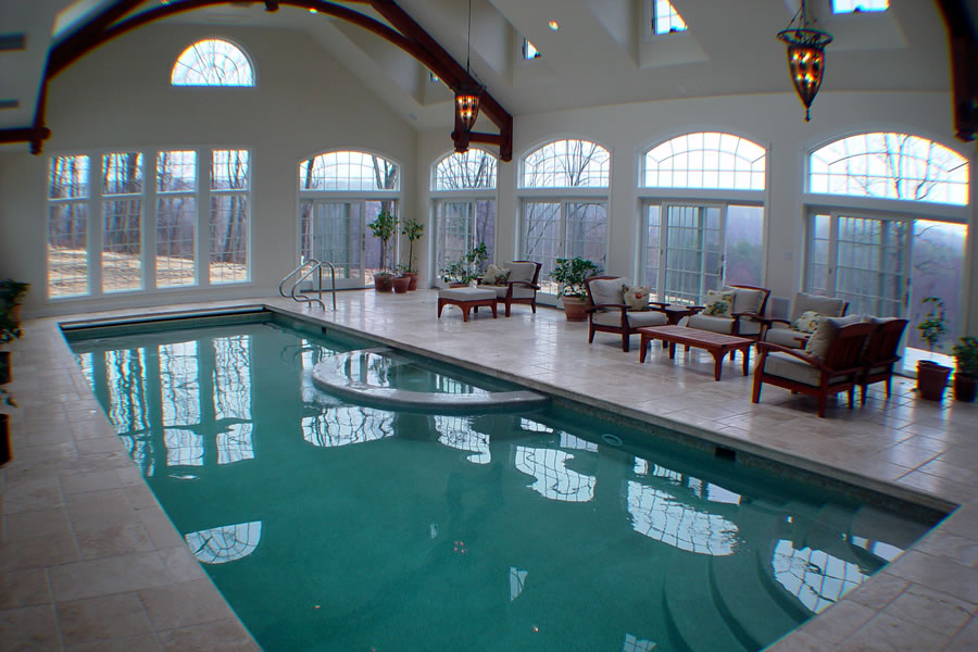 Indoor Pool Chester, New Jersey Residential Pool Design by ...