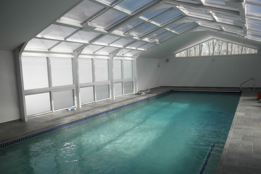 Indoor Pool Lakewood, New Jersey Residential Pool Design By Omega Pool  Structures, Inc