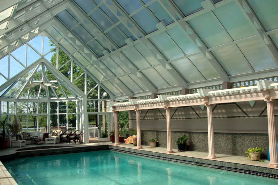 Indoor Pool And Spa Little Silver New Jersey Residential Pool Design By Omega Pool Structures Inc