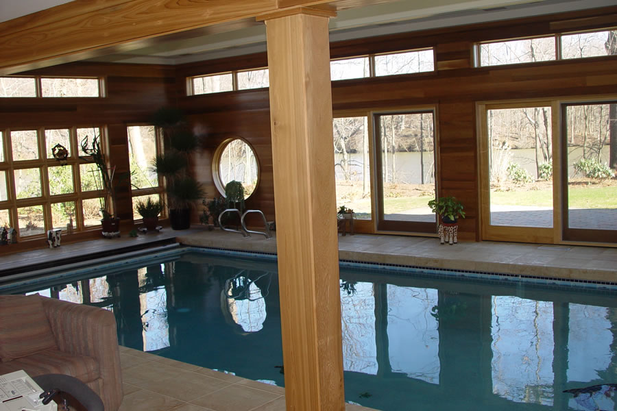 Pool with Therapy Design Colts Neck, New Jersey Residential Pool ...