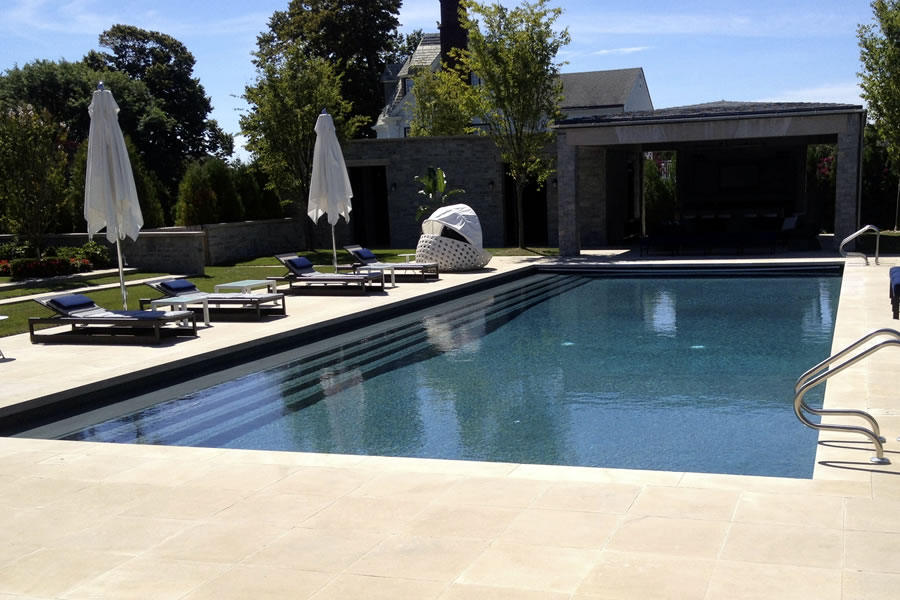 Outdoor Lap Pools Los Angeles Designs